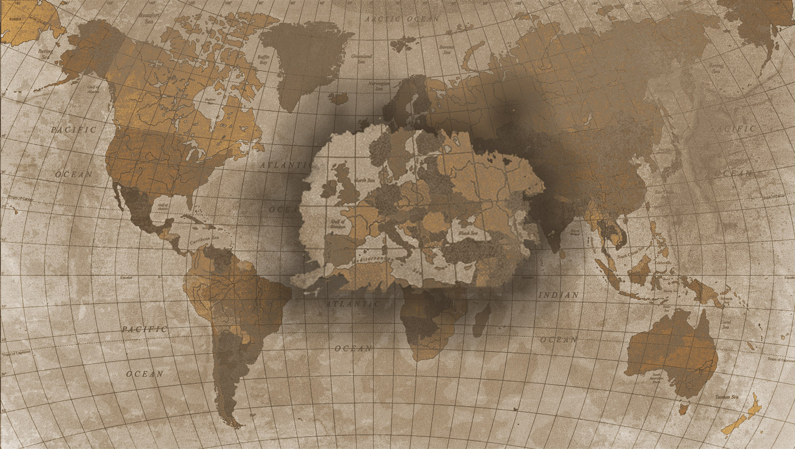 Mapa Infográfico II Guerra Mundial