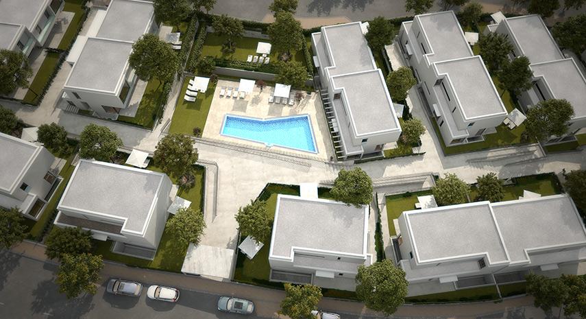 Altos de los Fresnos cuenta con piscina entre otras zonas comunes