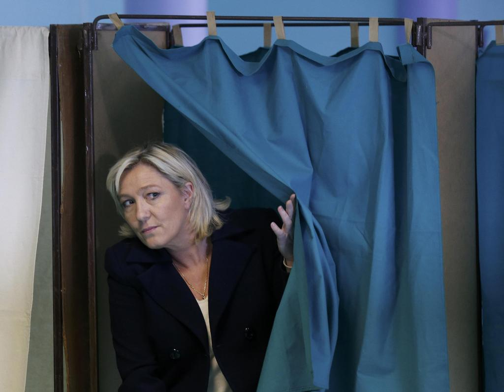Marine Le Pen, presidenta del Frente Nacional, y candidata a las elecciones de 2017.