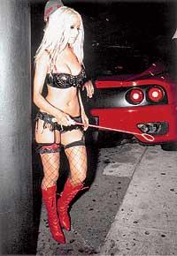 Moulin Rouge Christina Aguilera Vestuario