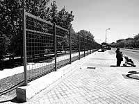El Foro de Orcasitas pide que el parque de Pradolongo, en la foto, permanezca sin vallar. / CHEMA TEJEDA