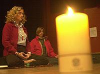 Cerca de 10 millones de occidentales practican ya la meditación trascendental./ EL MUNDO