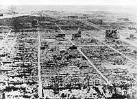 Después de la bomba. Así quedó la ciudad de Hiroshima el 6 de agosto de 1945. Ese día murieron 140.000 personas.