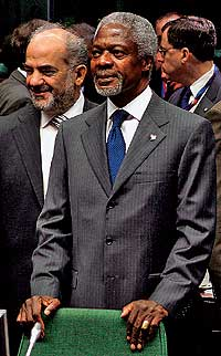 El Secretario General de la ONU, Kofi Annan / REUTERS