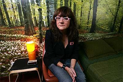Timidez. La directora de cine barcelonesa de 43 años confiesa que le abruman los actos sociales. / RICARDO CASES