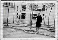 """Emigrante. En los años 60, en el madrileño barrio de San Blas, cuando se mudó para """"servir""""."""