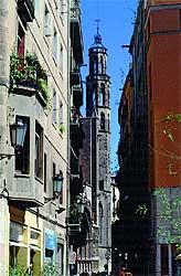 Integrada. Vista desde el barrio de la Ribera.