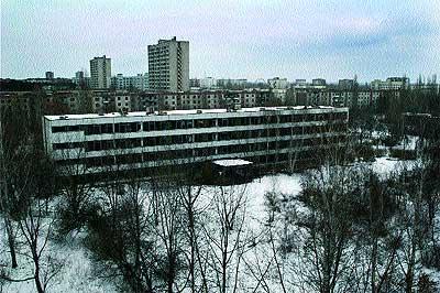 Pripíat, la ciudad más cercana a Chernóbil, tenía 50.000 habitantes hace 20 años.