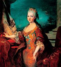 Luisa Isabel de Orleáns (Versalles 1709-París 1742) se casó en 1722 con Luis I de España, quien la mandó encerrar en una cámara de palacio.