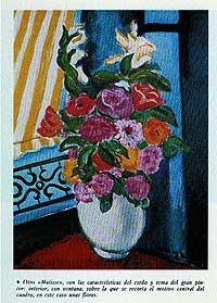"""Matisse. De Hory no tenía una buena opinión de él, y le consideraba """"un pintor muy mediocre, muy supervalorado"""". De sus obras pensaba que """"eran, con mucha diferencia, las más fáciles de falsificar""""."""