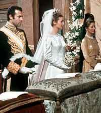 La boda con Alfonso de Borbón, el 8 de marzo de 1972. / EFE