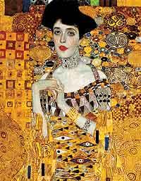 Adèle Bloch-Bauer, modelo y amante de Klimt, solía reunir en su salón a artistas como Mahler, Zweig, Strauss y el propio Klimt.