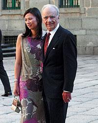 Rupert Murdoch y su esposa acudieron a la boda de Alejandro Agag con la hija de Aznar el 5 de junio de 2002 en El Escorial. Hasta entonces, la relación entre el magnate y el hoy ex presidente era esporádica.