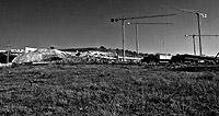 Vista de varias promociones de viviendas en construcción en la Comunidad de Madrid. / JULIÁN JAÉN
