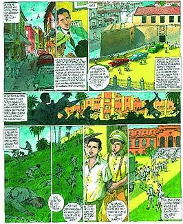 """Lea completo el cómic """"80 años con Fidel"""""""