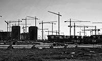 Obras de construcción de edificios de viviendas/ ANTONIO HEREDIA