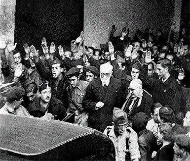 """Hace 70 años Unamuno irritó con su """"Venceréis, pero no convenceréis"""" a los legionarios al mando de Millán Astray."""