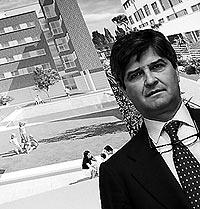 El químico Fernando martín ha entrado en bolsa al comprar el 55% de Fadesa./ PEDRO CARRERO