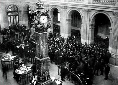 La Bolsa en los años 20.