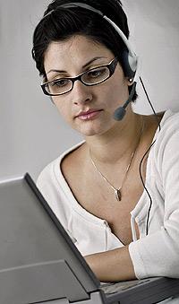 Los teléfonos se conectan a la red mediante los PC.