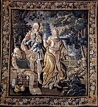 Los tapices fueron dejados en herencia pr una acaudalada mujer del XIX. /CHEMA CONESA