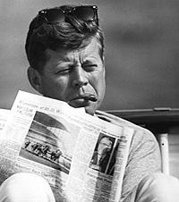 John F. kennedy. Un usuario habitual (1962).