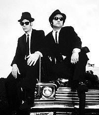 """The blues brothers"". Imagen de este filme de 1980."