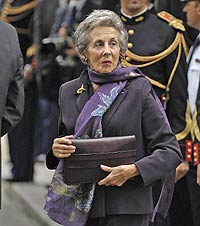 La madre de Sarkozy, Andrée, tiene 81 años y cierto aire aristocrático.