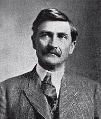"El ""sheriff"". Pat Garret, en 1908."