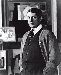 Picasso. El artista, en los años 20.