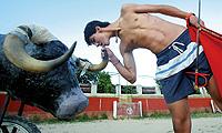 Jairo Miguel en uno de sus entrenamientos. / RICARDO CASES