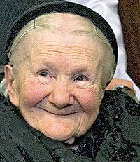 Hoy. La intrépida heroína, a sus 97 años.