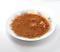 Cocidos, legumbres y platos de cuchara son muy demandados (86%)