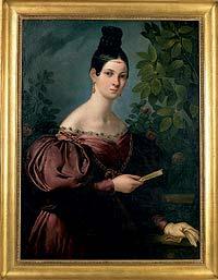 EL MODELO. María Malibrán, hija del tenor español Manuel García. Una cantante revolucionaria que rompió con todas las convenciones del XIX. Murió a los 28 años.