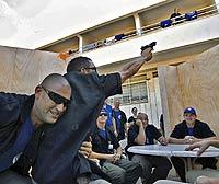 Un grupo de españoles entrando en Israel. /