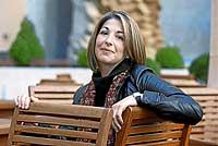 Noemi Klein, autora de 'La doctrina del Shock', esta semana en Madrid. / ALBERTO CUÉLLAR