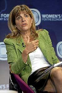 Anne Lauvergeon, presidenta del grupo nuclear Areva. / REUTERS