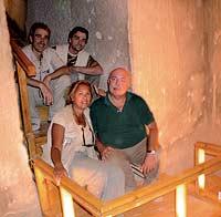 Francisco J. Martín Valentín y Teresa Bedman forman la pareja española más experimentada en Egiptología.