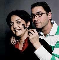LOS QUE ROMPEN LA ESTADÍSTICA. María Isabel Pascual y Jesús Lira están a punto de cumplir su octavo aniversario.