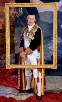 Lorenzo Silva como Fernando VII.