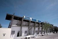 Estadio Municipal de Pedro Muñoz, rebautizado Juande Ramos el 24 de marzo de 2007.
