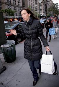 En Manhattan. Nancy Shevell, nueva pareja de McCartney, por las calles de Nueva York.