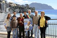 """La """"familia"""" de Picasso, en la localidad genovesa de Sori, Italia. (Foto: Antonio Amato)"""