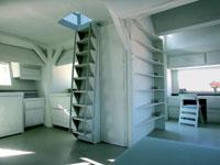 Personalizada. Los habitantes de la M-House pueden organizar las estancias de la casa como quieran, crear habitaciones nuevas o ampliar otras.