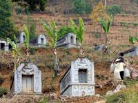 Anónimos. Por vergüenza, las lápidas de los ejecutados no llevan nombre.