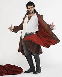 """Burlador. Fran Perea, que da vida al Don Juan de Tirso, ve luces y sombras en el personaje: """"Yo me quedo con su valentía""""."""