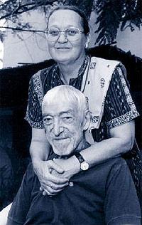 Ana Perry y Vicente Ferrer se casaron en la India, en 1970