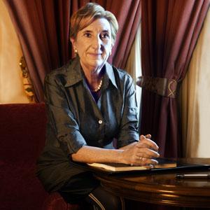 LUCHADORA Y VALIENTE. A sus 62 años, Gotzone Mora (Bilbao, 1968) vive un sentido exilio en Valencia.
