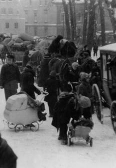 Los Desplazados. Europa en 1945