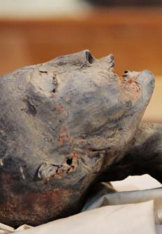 Tutankamón: quitando la venda